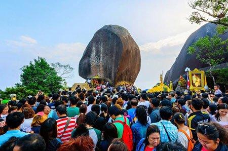 Lord Buddha Footprint Khao Khitchakut